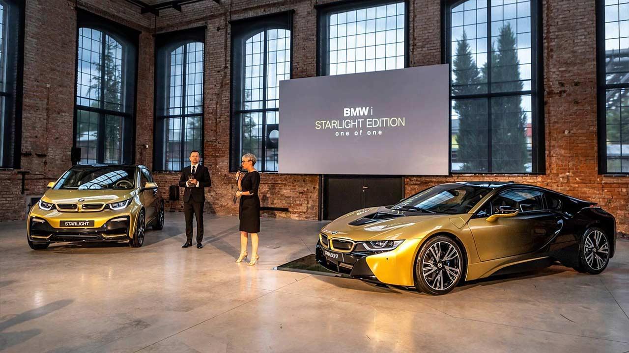 BMW I3 Starlight Edition And BMW I8 Starlight Edition 2018