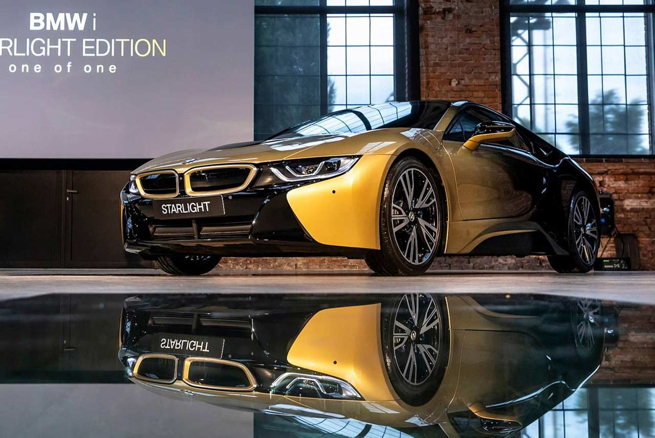 Bmw I3 Starlight Edition And Bmw I8 Starlight Edition Painted With