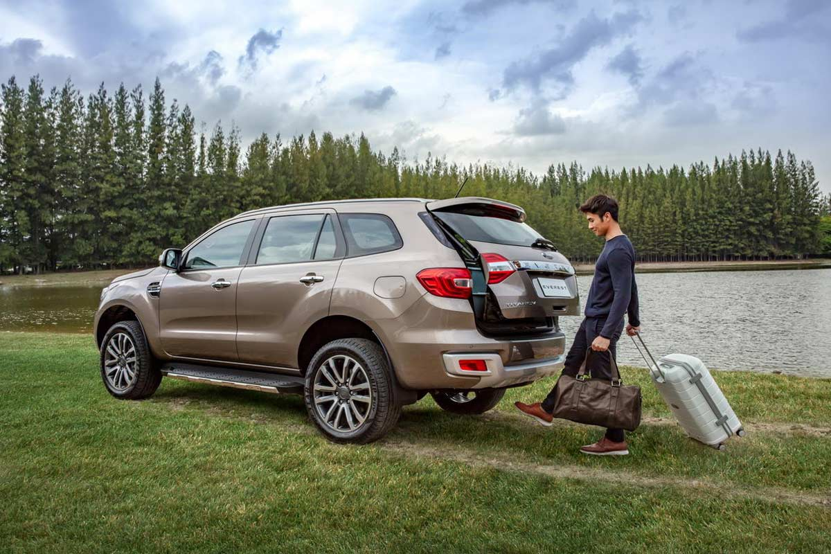 Ford Everest Foot Activated Power Tailgate 2019 | AUTOBICS