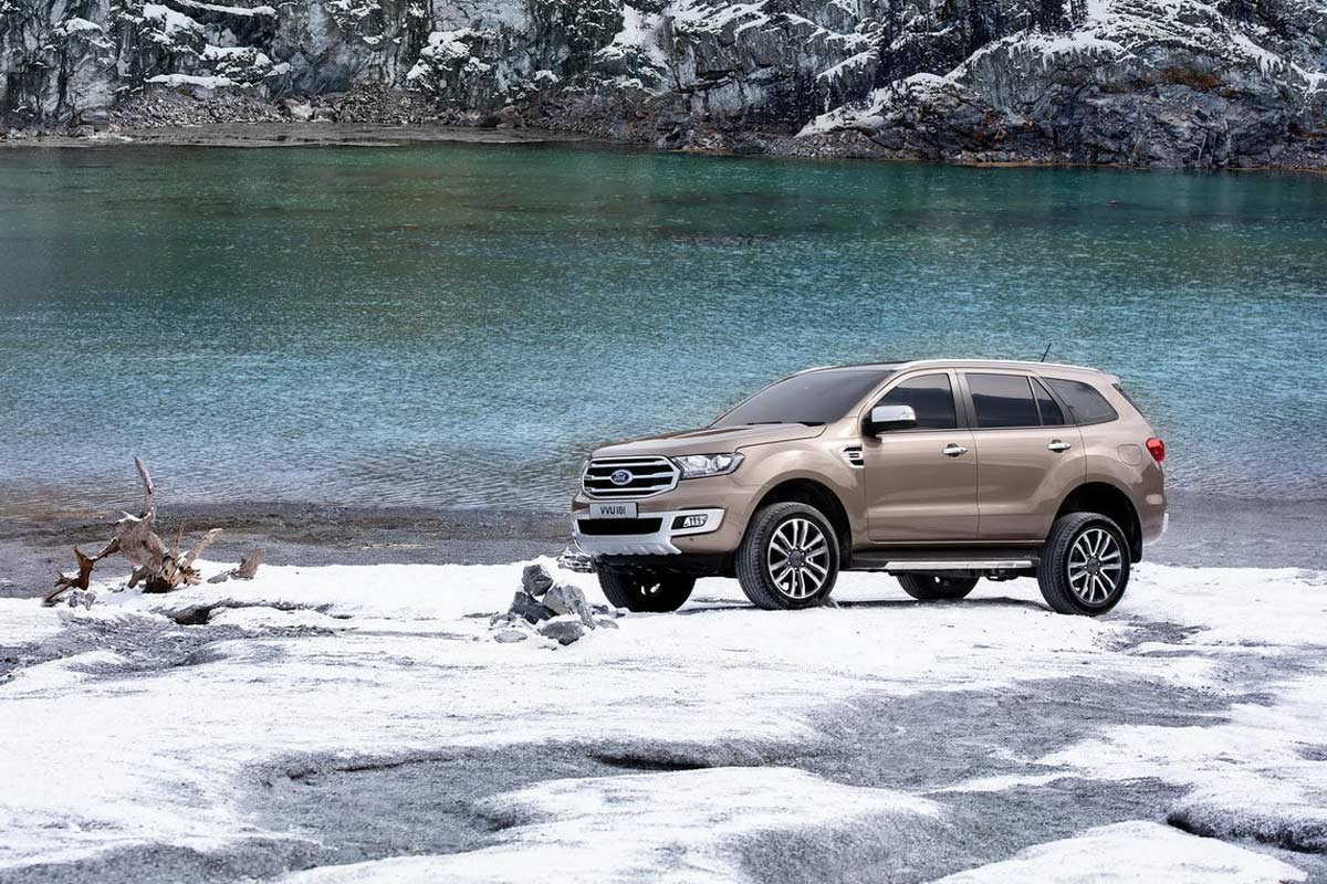 New Ford Everest Front Side 2019 | AUTOBICS