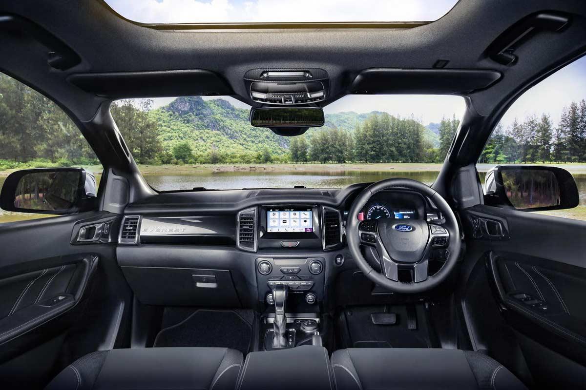 New Ford Everest Interior Dashboard 2019 AUTOBICS
