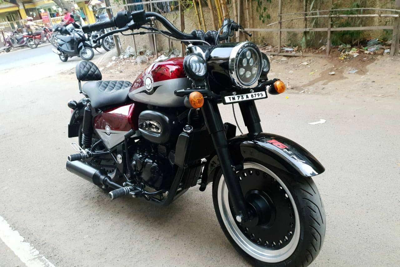 Royal Enfield Classic 350 Modified Into A Harley Davidson Fat Boy Autobics