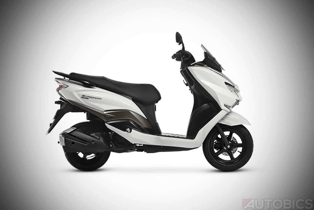 suzuki burgman street 125 scooter priced at inr 68 000 in india autobics. Black Bedroom Furniture Sets. Home Design Ideas