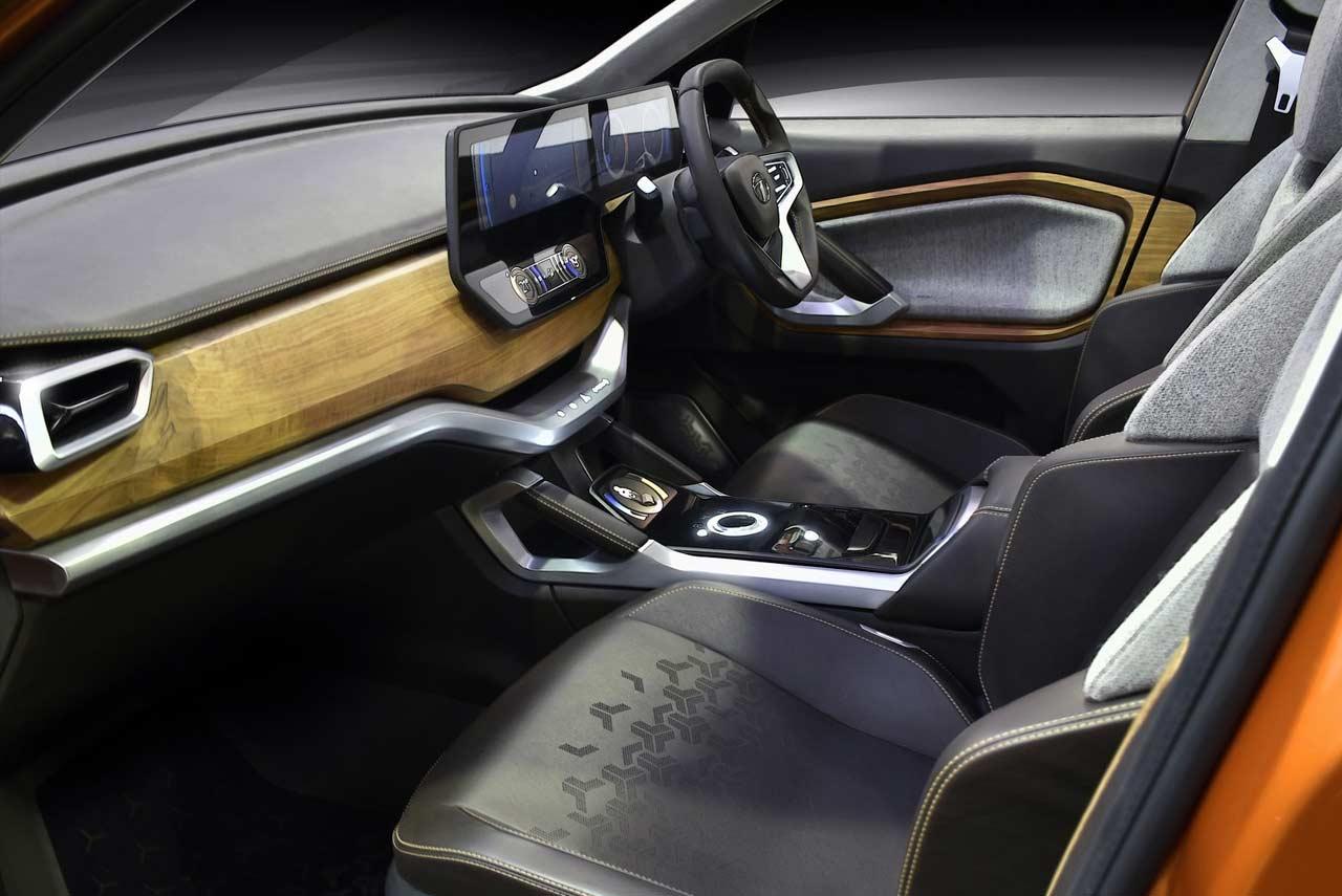 Porsche 7 Seater >> Tata H5X Concept Interior 2018   AUTOBICS