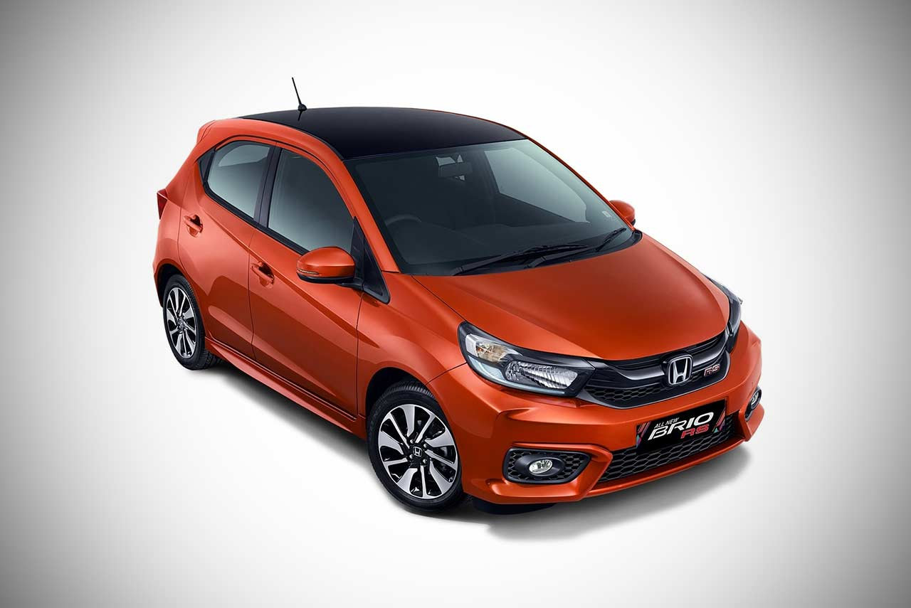 All New Honda Brio Makes World Debut At The Giias 2018