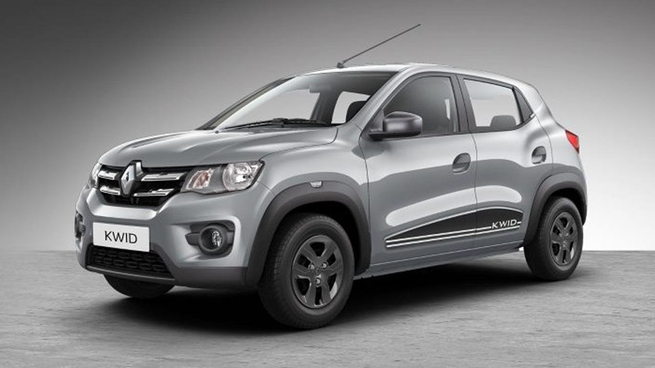 2018 renault kwid range launched in india comes with new features autobics. Black Bedroom Furniture Sets. Home Design Ideas