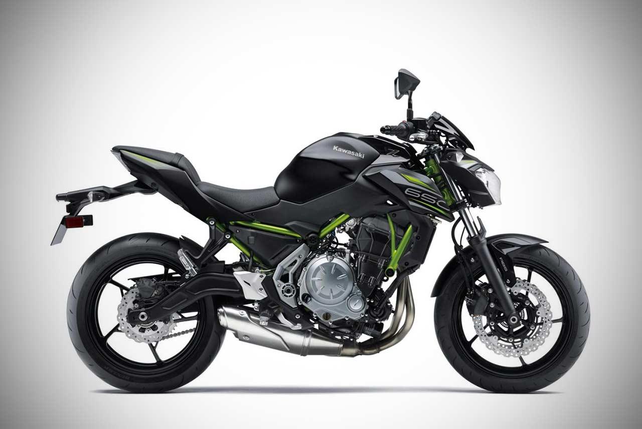 2019 Kawasaki Z650 Spark Black Right Side Autobics