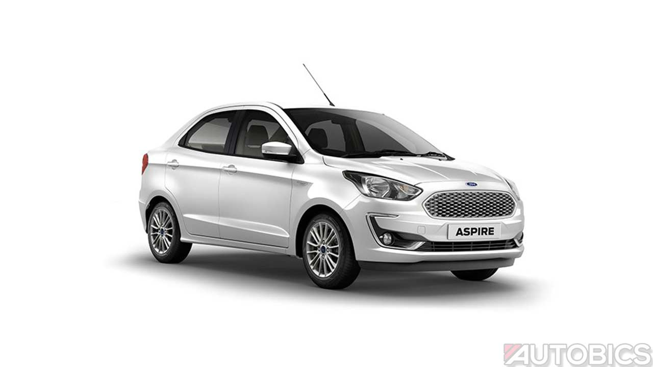 2018 Ford Aspire Sedan Priced From Inr 5 55 Lakh In India