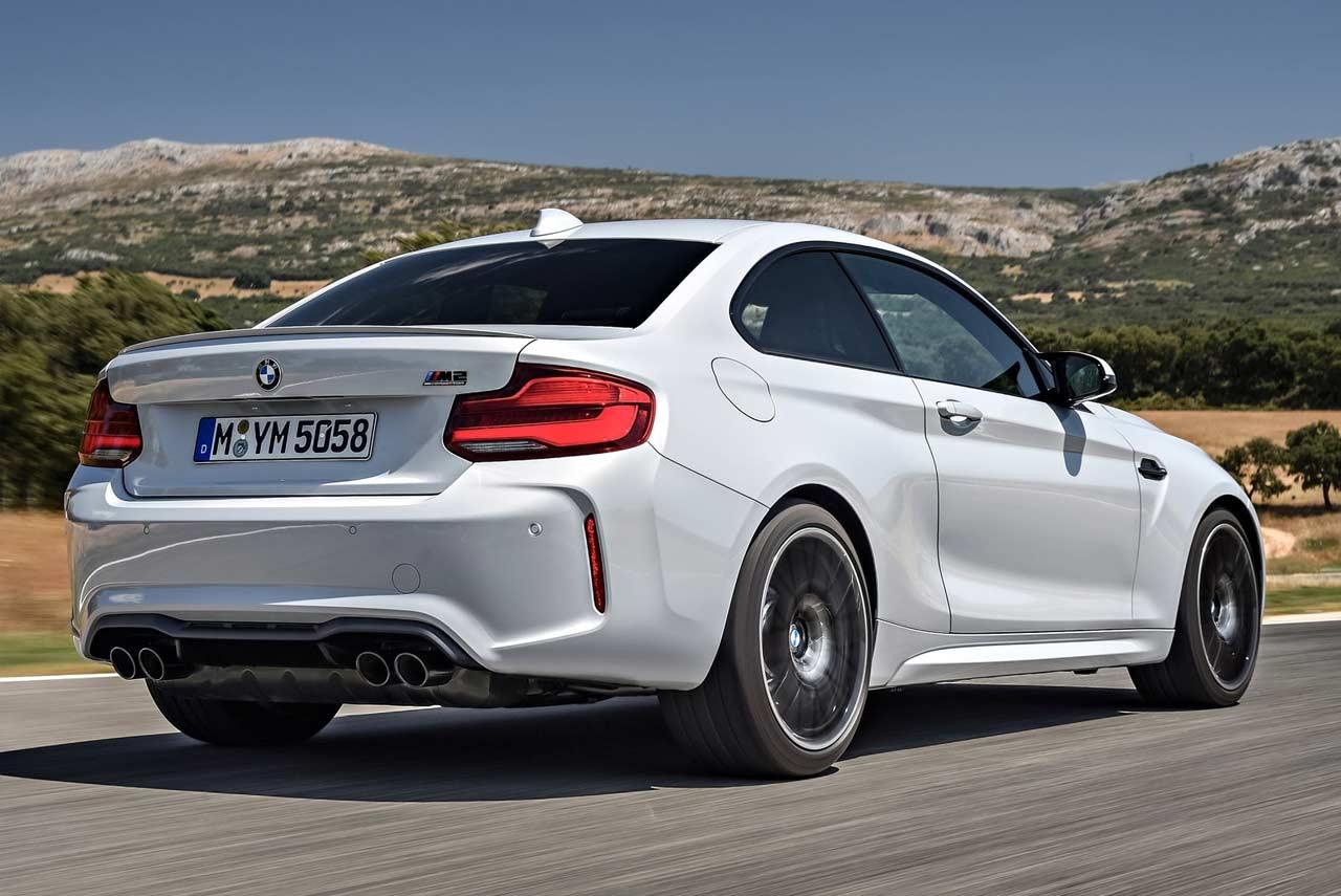 2019 BMW M2 Competition Rear Rolling Shot | AUTOBICS