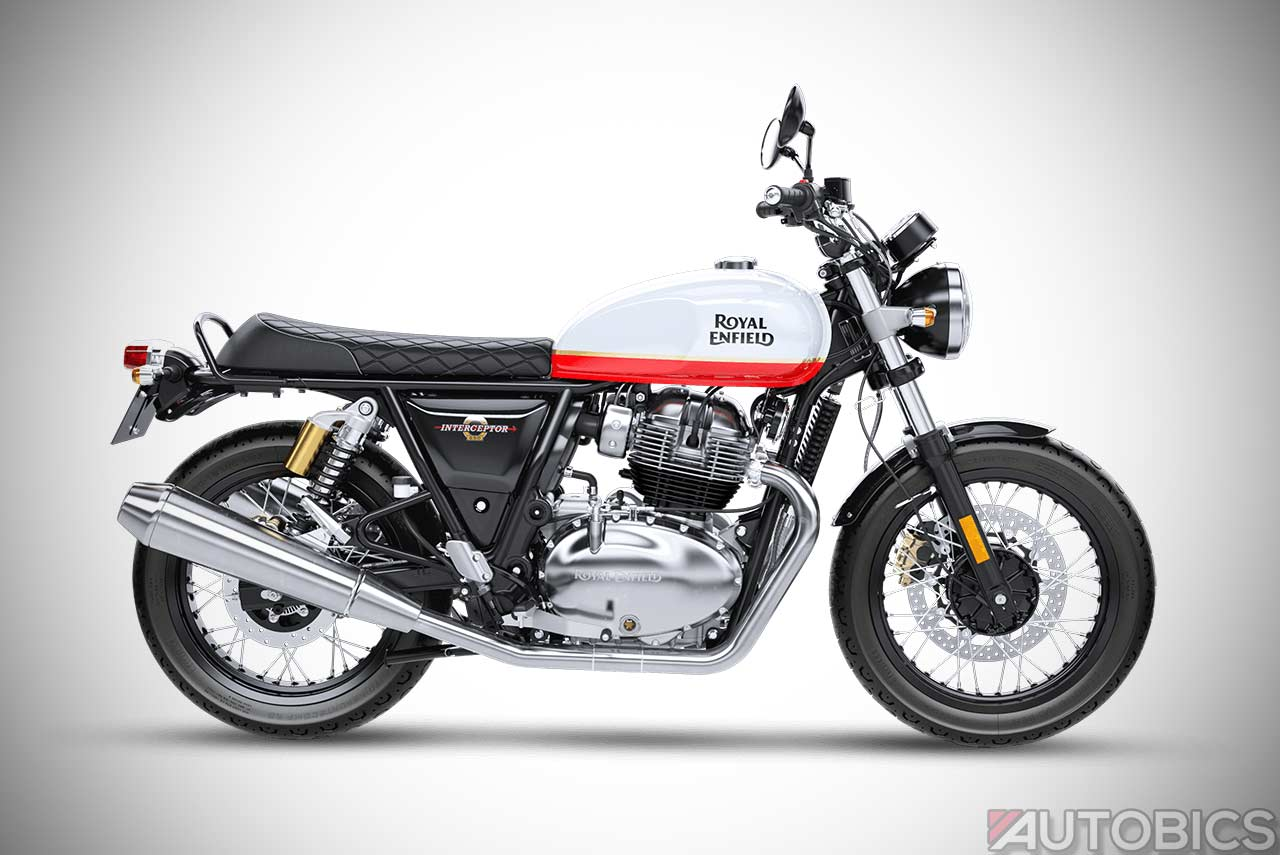 Royal Enfield Interceptor 650 Priced At INR 2,50,000 In