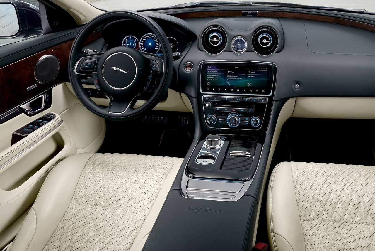 2019 jaguar xj50 interior dashboard | autobics