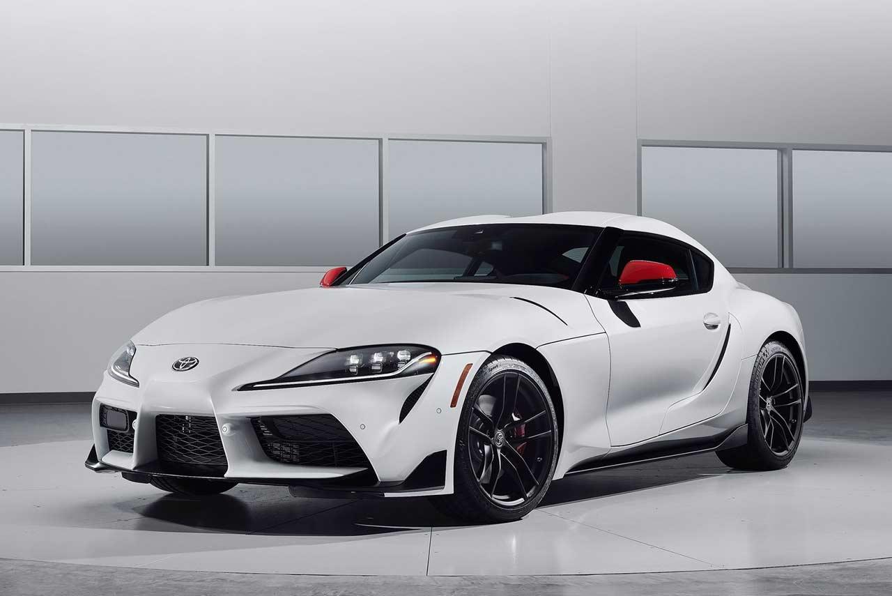 2020 Toyota Supra Absolute Zero White Front | AUTOBICS