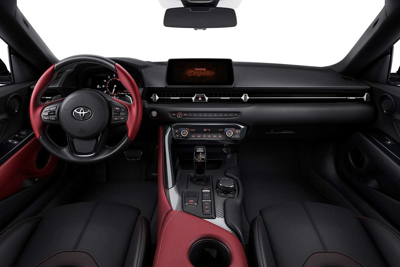 2020 Toyota Supra Interior Autobics