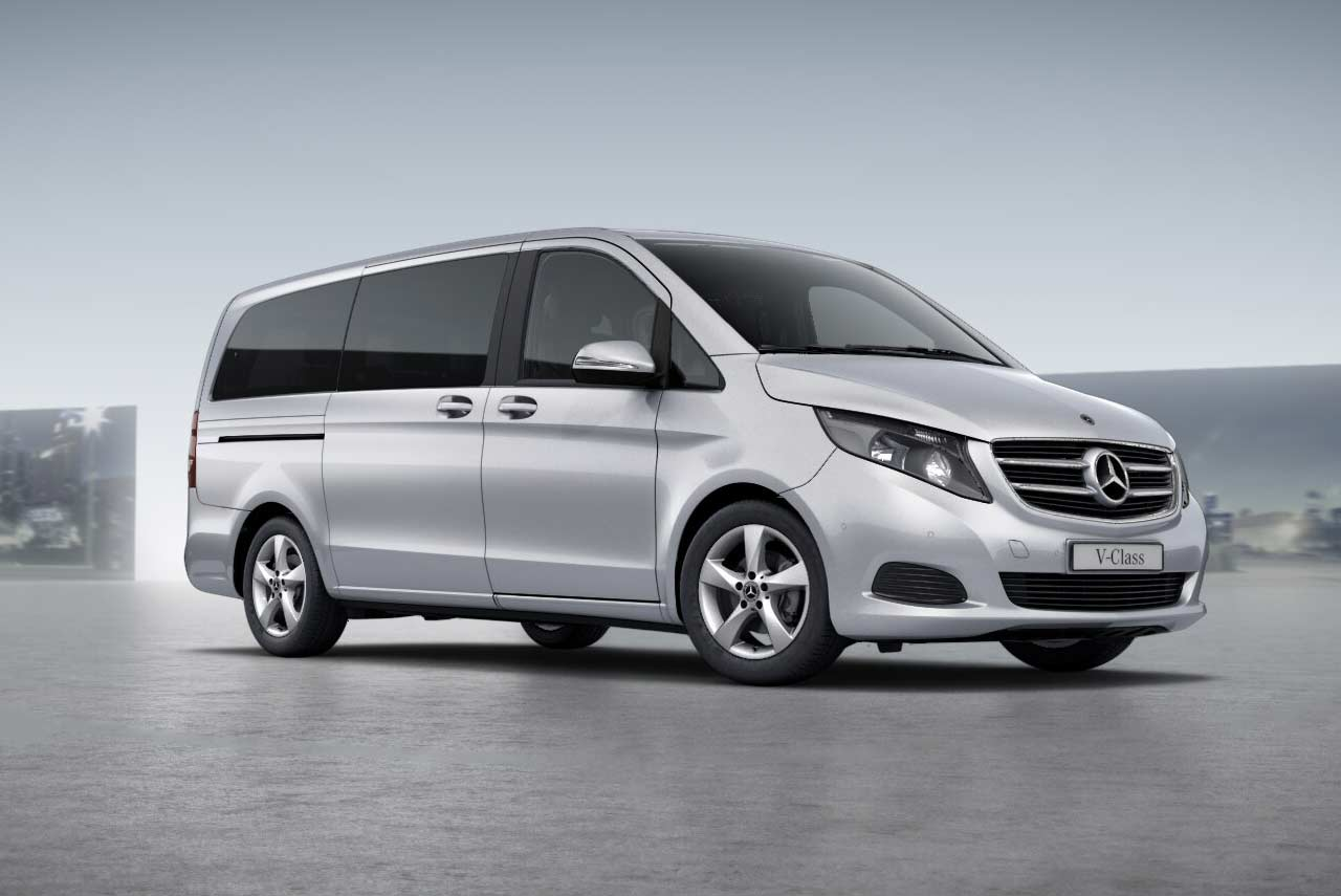 Mercedes Benz V Class Brilliant Silver 2019 AUTOBICS