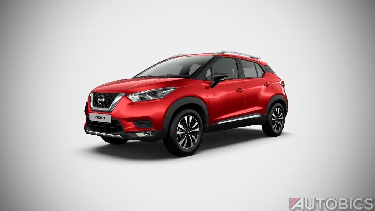 Nissan Kicks Fire Red 2019 | AUTOBICS