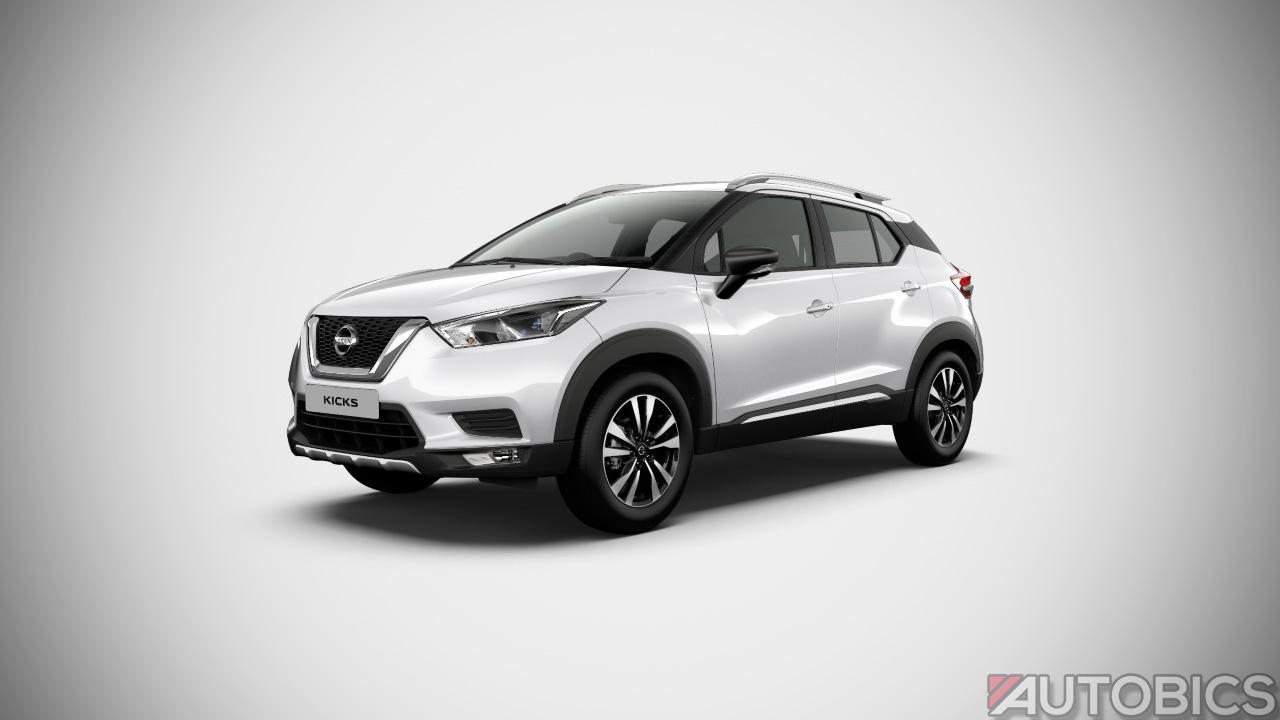 Nissan Kicks Pearl White 2019 | AUTOBICS