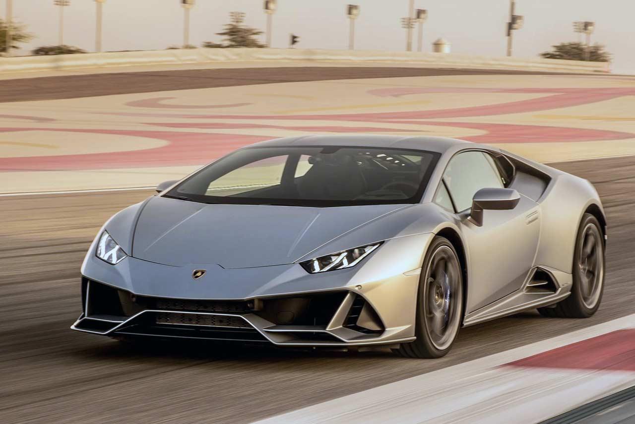 Auto Center Front Royal >> 2019 Lamborghini Huracan EVO Matte Silver Front Quarter ...