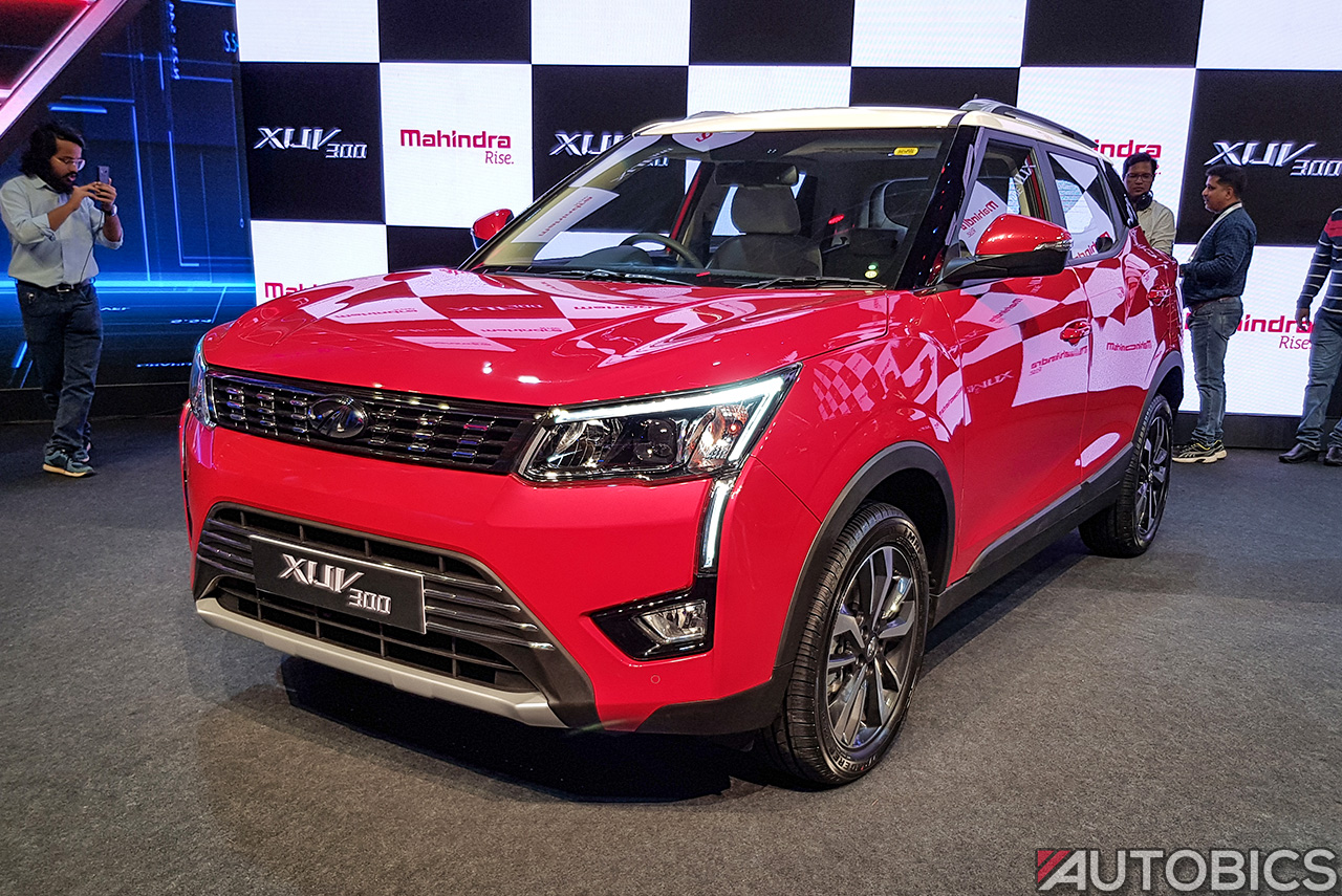 Mahindra XUV300 Priced from INR 7.90 Lakh in India | AUTOBICS