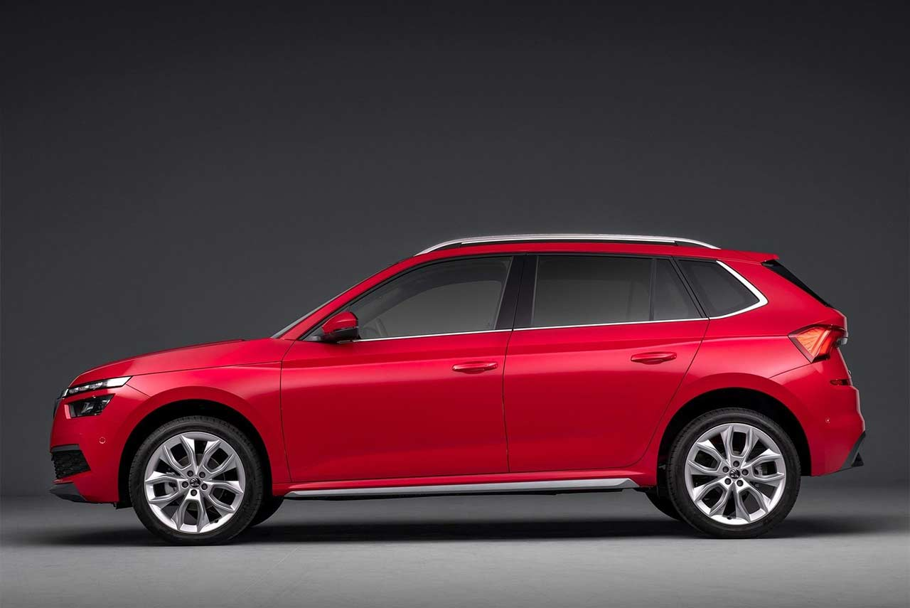 Skoda Kamiq Red Side 2019