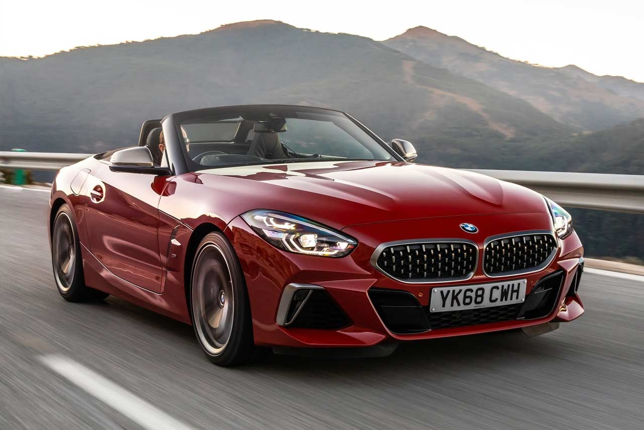 2019 bmw z4 m40i francisco red speed