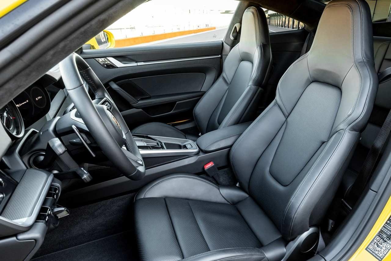 2019 Porsche 911 Carrera S Front Seats Autobics