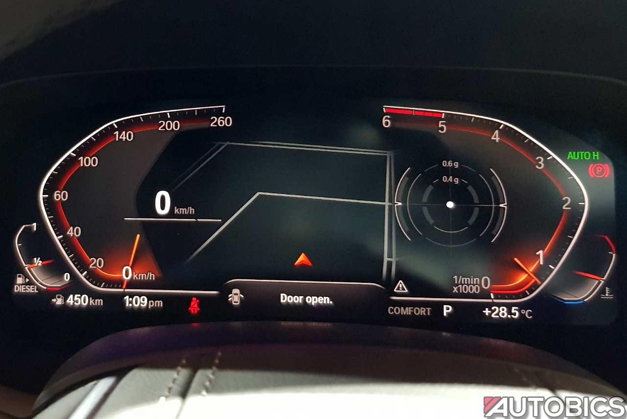 bmw speedometer x5 digital autobics india