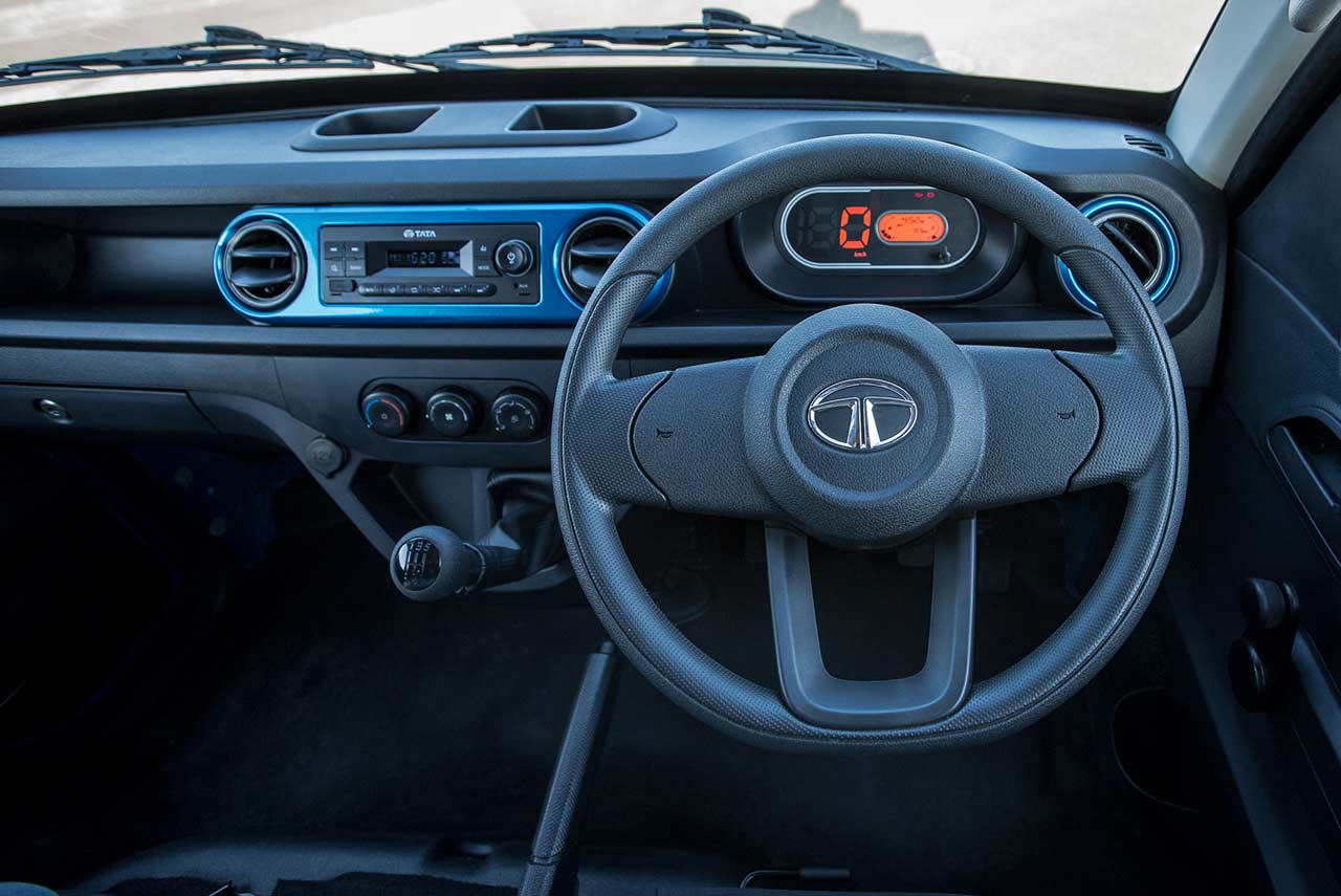 Tata Intra Steering Wheel 2019