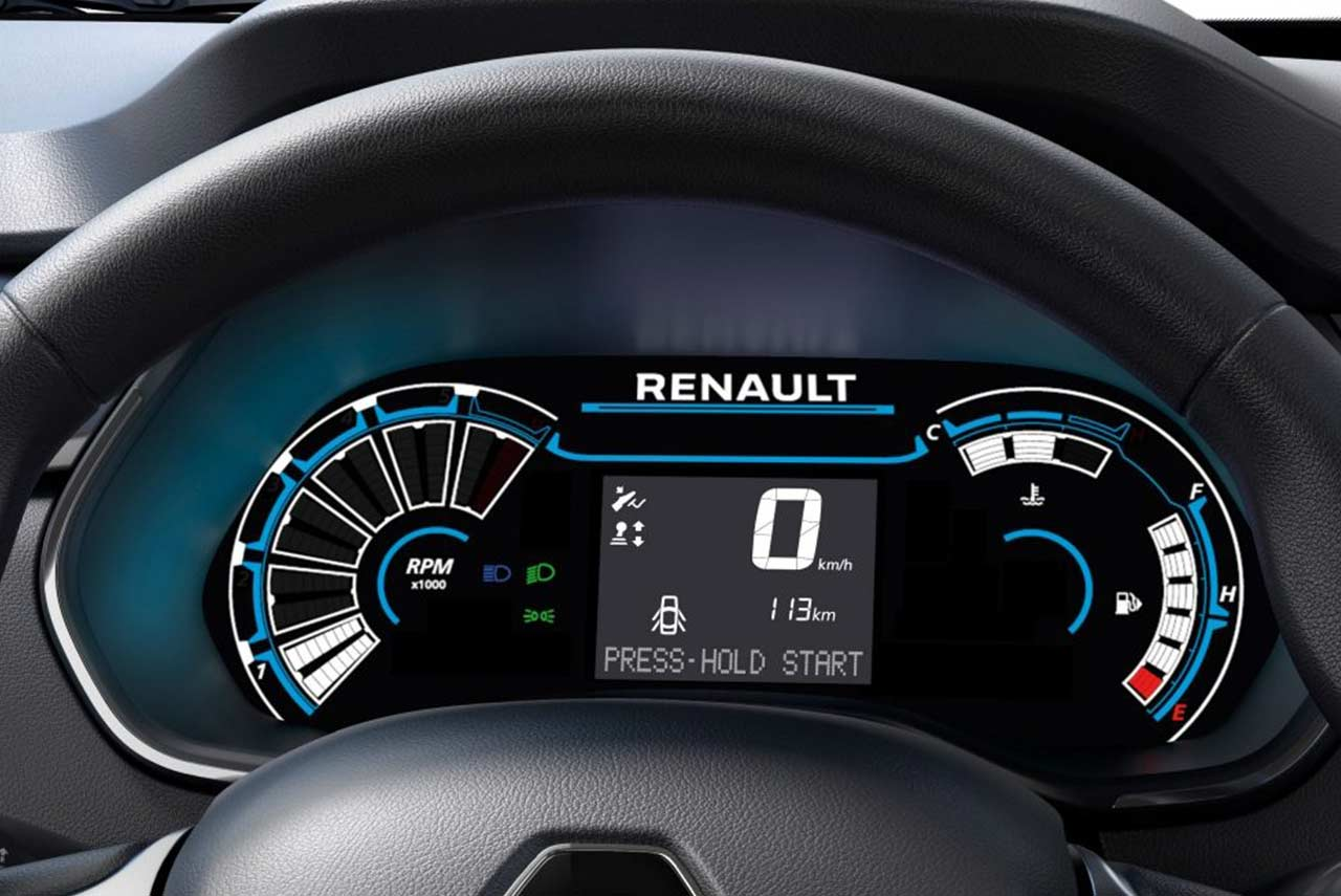 Renault Triber Digital Instrument Cluster 2019 Autobics