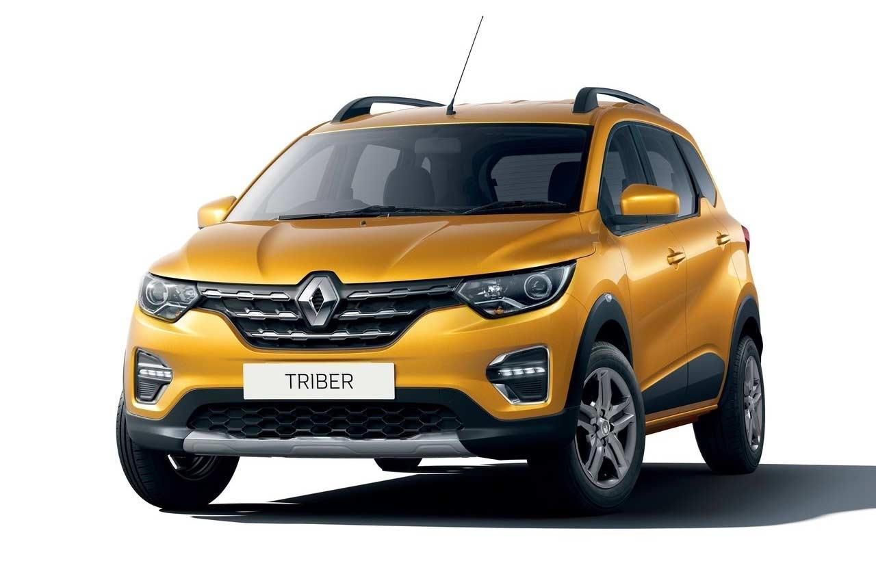 Renault Triber Mpv Makes Global Debut In India Autobics