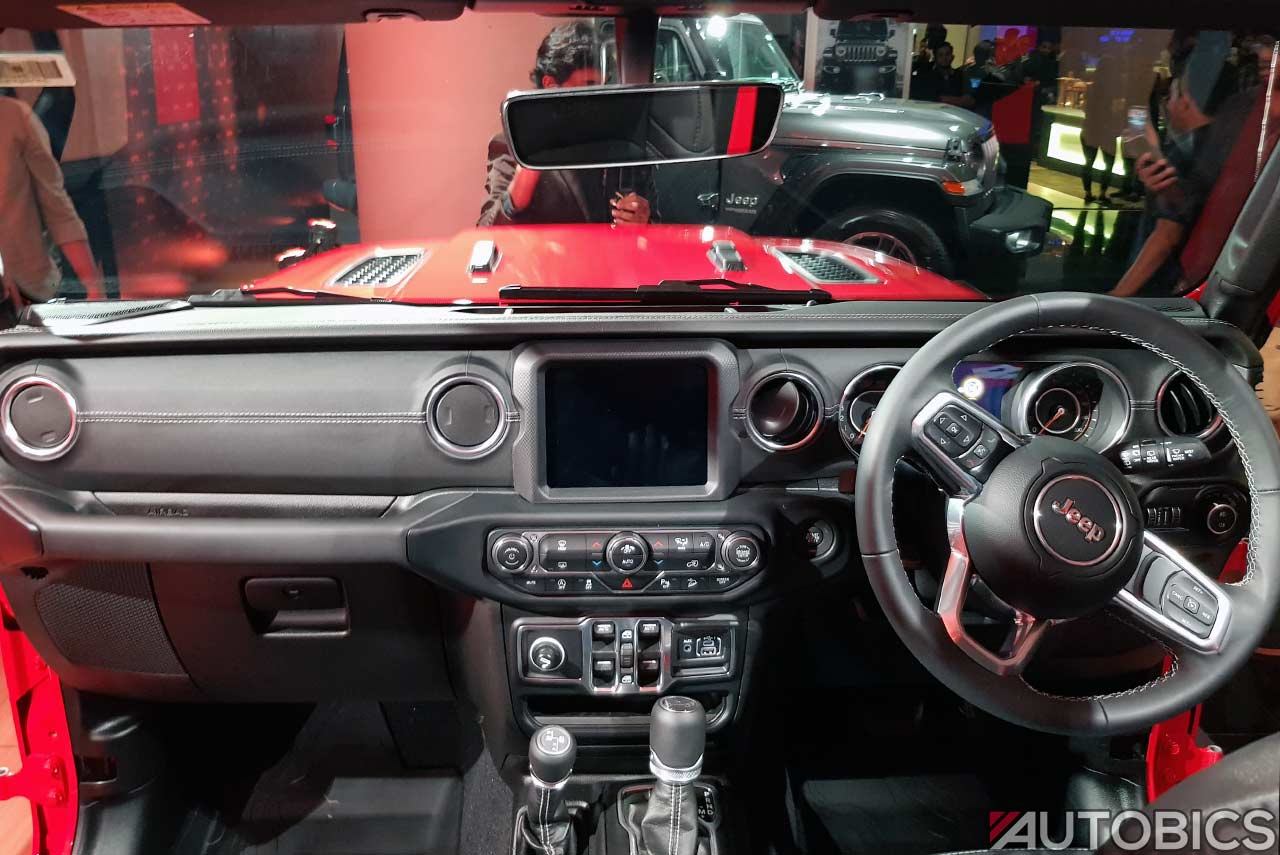 2019 Jeep Wrangler Unlimited Dashborad Interior Autobics