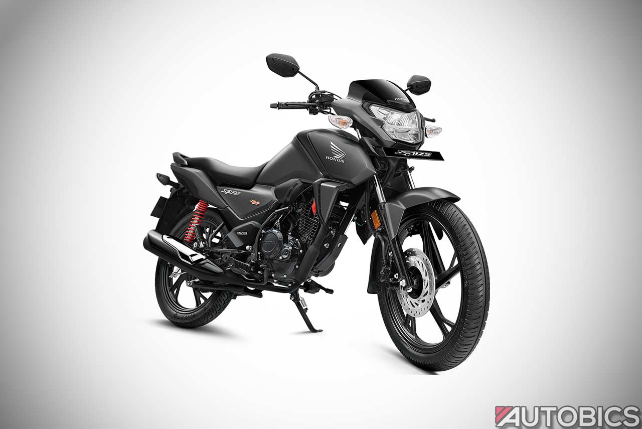 Honda SP 125 Matte Axis Grey 2019 | AUTOBICS