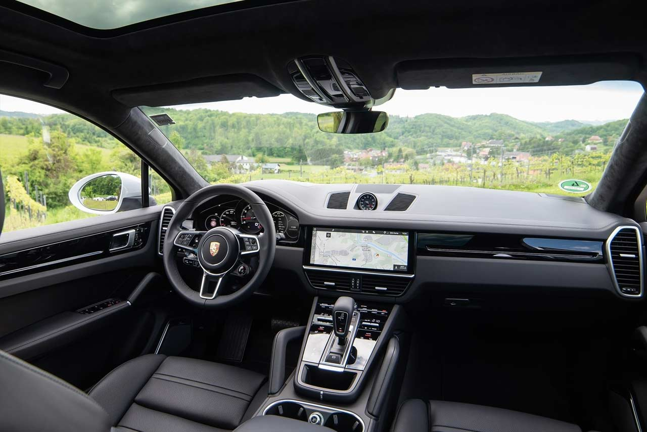 Porsche Cayenne Coupe Interior 2020 Autobics