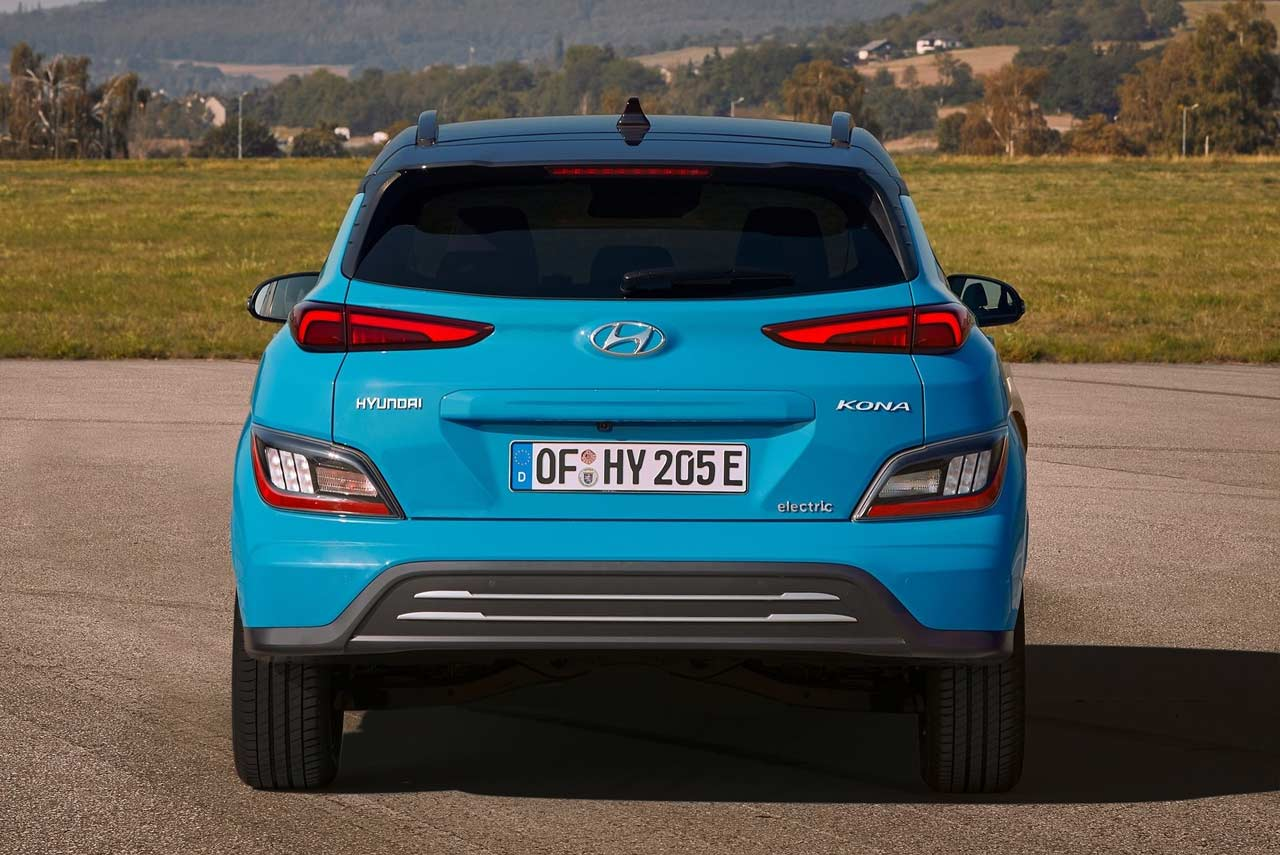 2021 Hyundai Kona Electric Rear | AUTOBICS