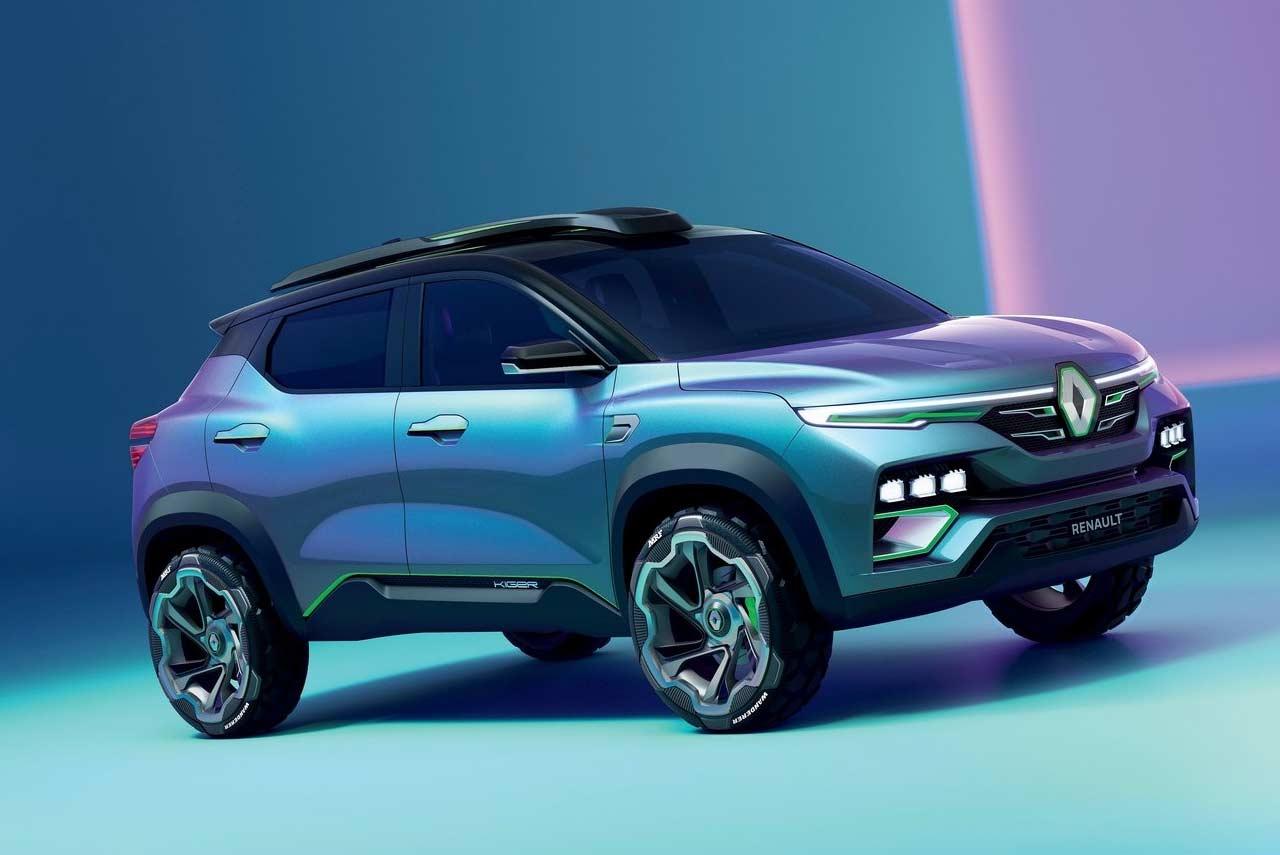 renault kiger concept 2020 front quarter view | autobics