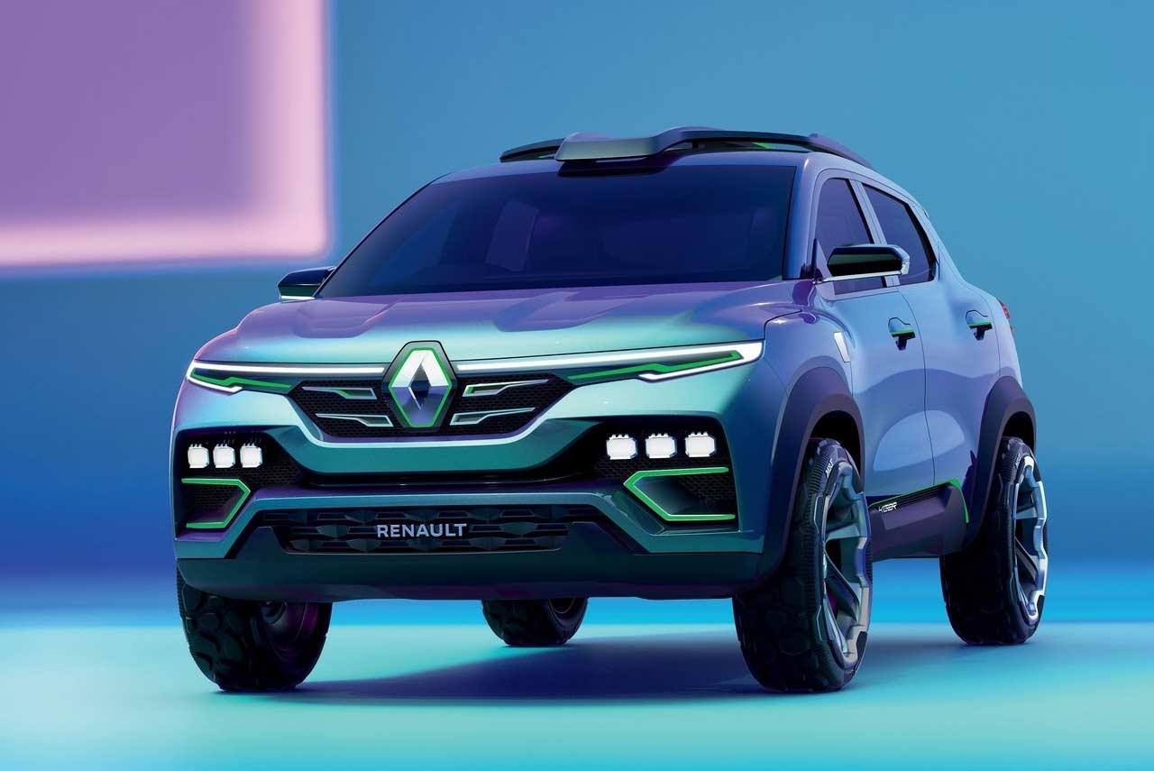 renault kiger showcar front quater view 2020 | autobics