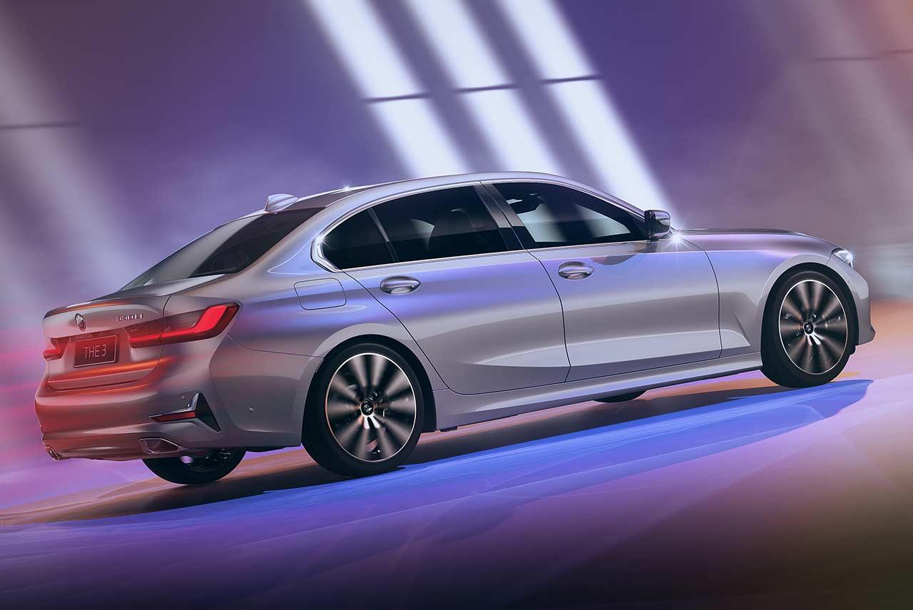 2021 BMW 3 Series Gran Limousine Rear Quarter   AUTOBICS
